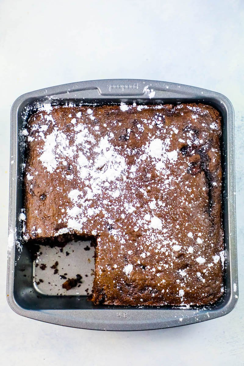 3 Ingredient Chocolate Cherry Dump Cake Sweet Cs Designs