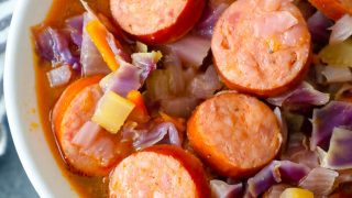 Sausage and Cabbage Soup Recipe