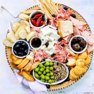 Ultimate Italian Cheese Plate