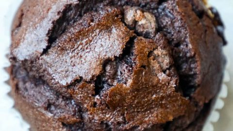 Easy Double Chocolate Chunk Muffins Recipe