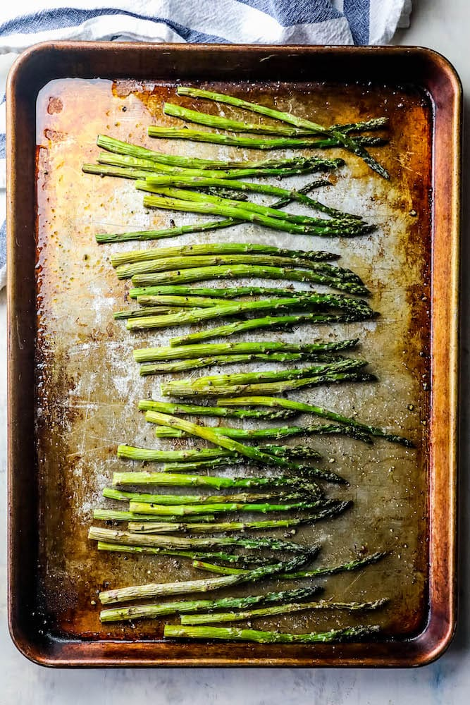 The Best Easy Oven Roasted Asparagus Recipe Sweet Cs Designs