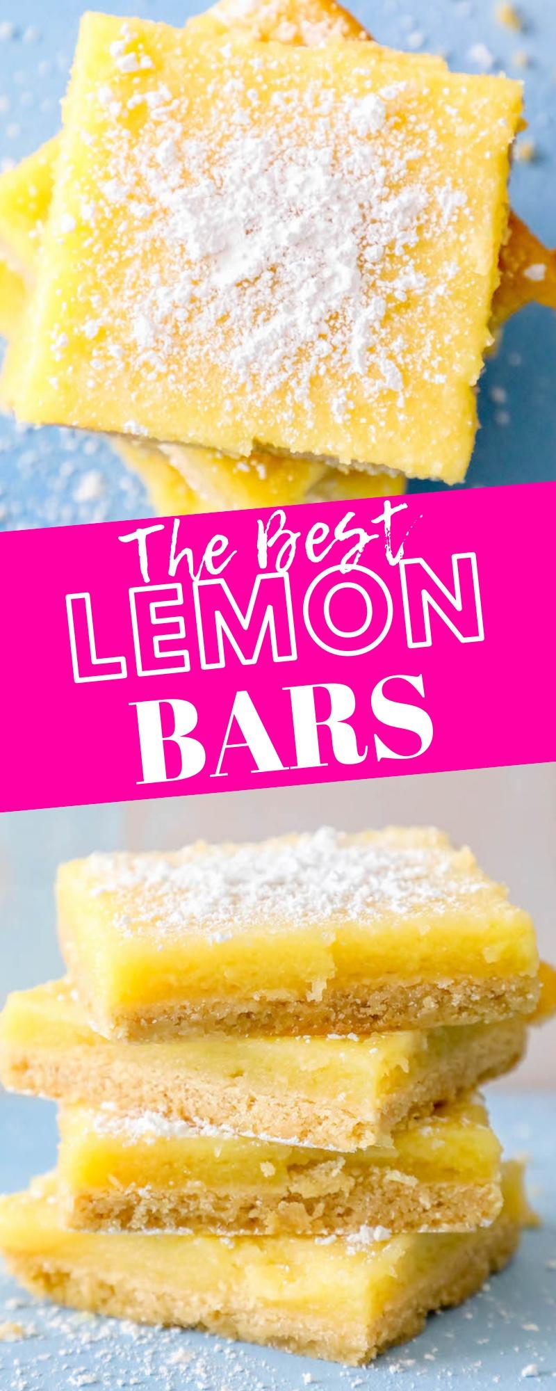 picture of lemon bars