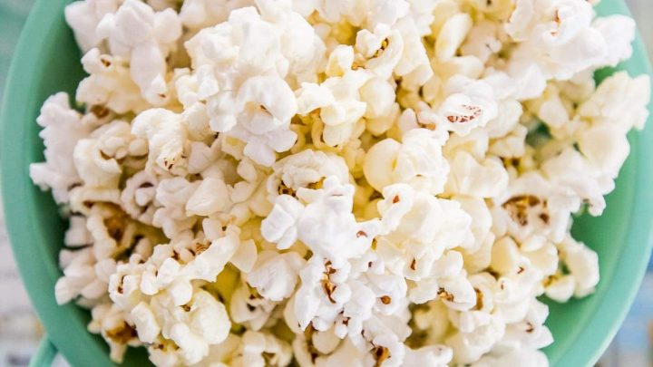 The Best Homemade Movie Style Butter Popcorn