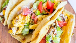 Spicy Breakfast Tacos