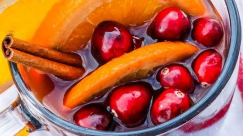 Traditional French Vin Chaud (Mulled Wine) Recipe