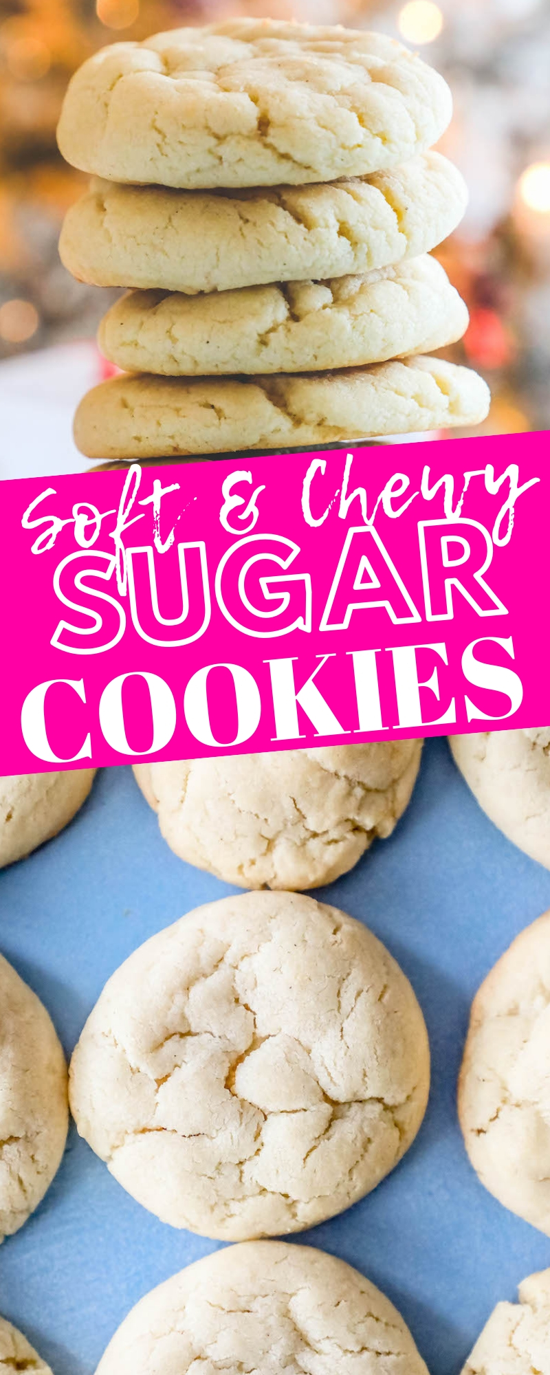 The Best Easy Chewy Sugar Cookies Ever Recipe Sweet Cs