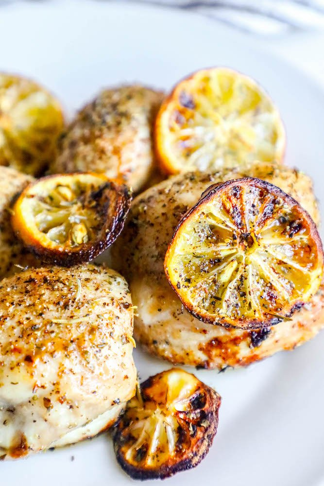 Easy Air Fryer Lemon Chicken Recipe Sweet Cs Designs
