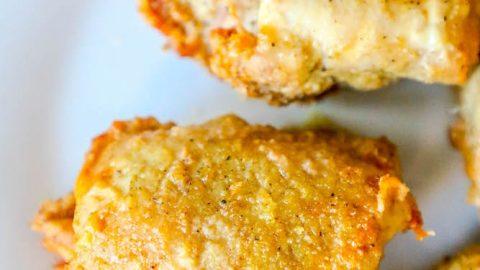Keto Adobo Air Fried Chicken Thighs Recipe