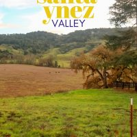 A Perfect Day in the Santa Ynez Valley