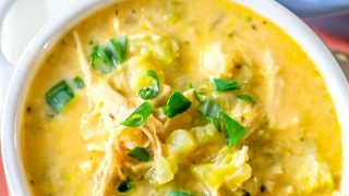 Easy Cheesy Chicken and Broccoli Soup Recipe