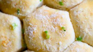 Garlic Butter Parmesan Dinner Rolls Recipe