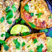 The Best Baked Garlic Pork Chops Recipe