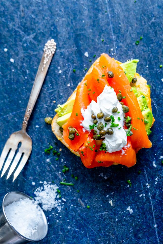 Keto Salmon and Avocado Toast Recipe
