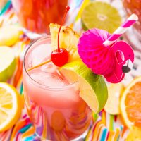 Rum Punch Party Drink Recipe