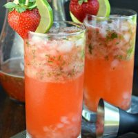 The Best Strawberry Mojitos Recipe