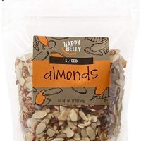 Amazon Brand - Happy Belly Amazon Brand Sliced Almonds, 12 ounce