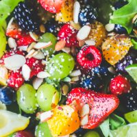 Poppyseed Spinach Fruit Salad Recipe