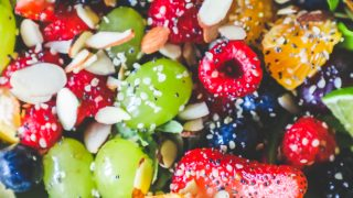Poppyseed Spinach Fruit Salad Recipe