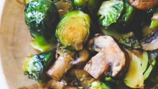 Brussels Sprouts and Mushrooms Recipe