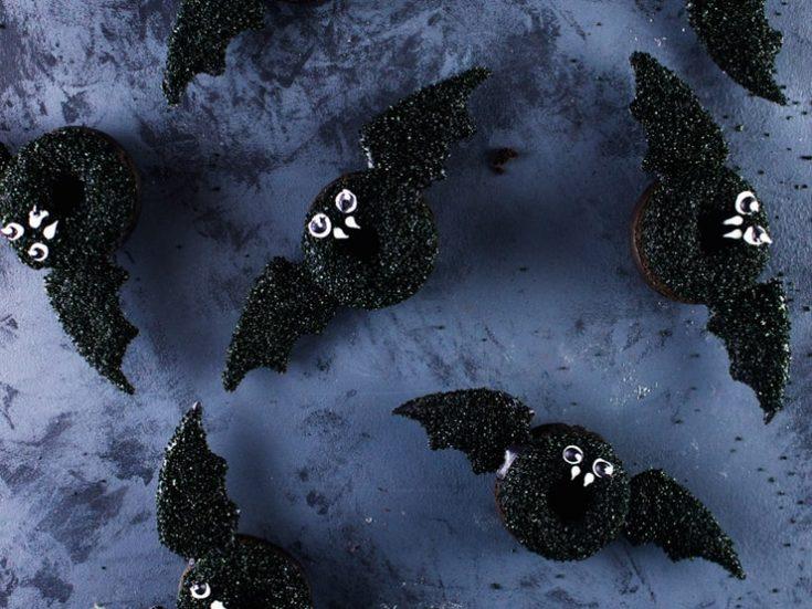 Bat Doughnuts