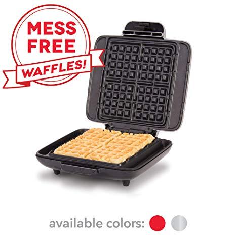 DASH No-Mess Belgian Waffle Maker
