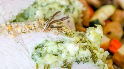 Easy Baked Stuffed Pork Loin Recipe