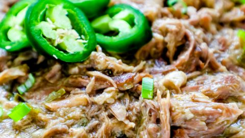 Green Chile Pork Carnitas Recipe
