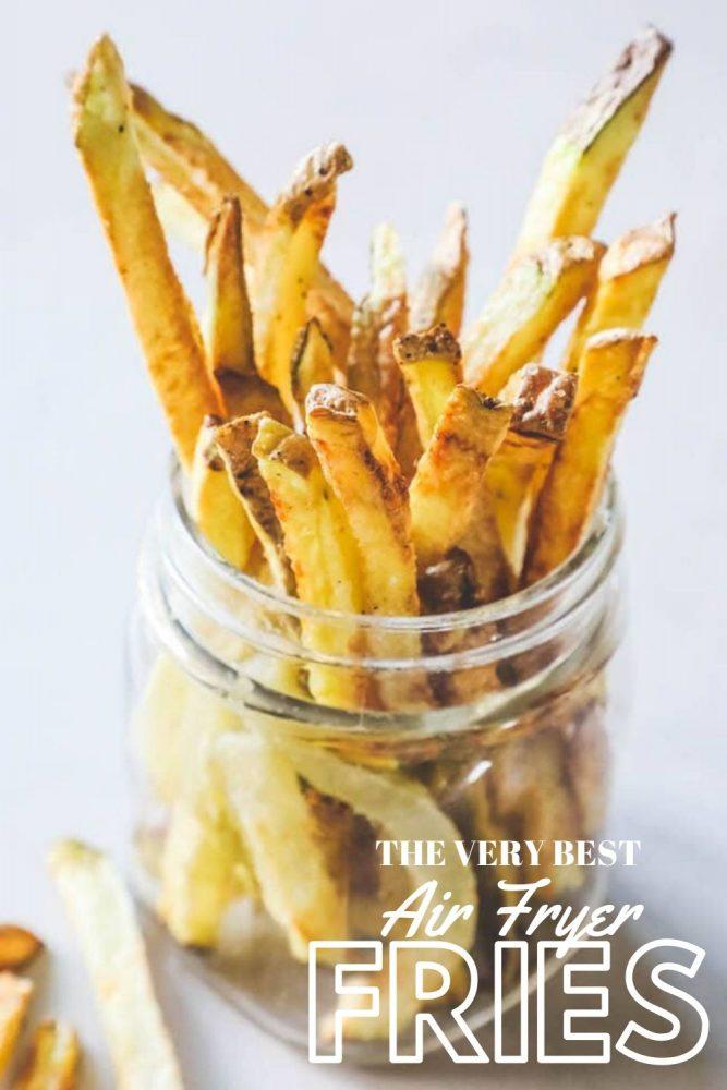 Fries in a jar