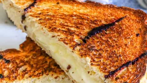 Wine Grilled Cheese Recipe