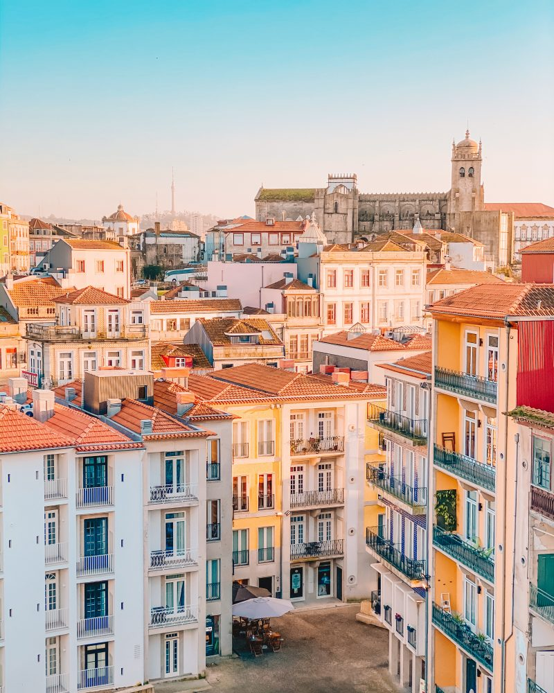 Picture of Porto skyline