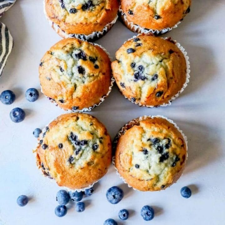 The Best Easy Blueberry Muffins Recipe Sweet Cs Designs