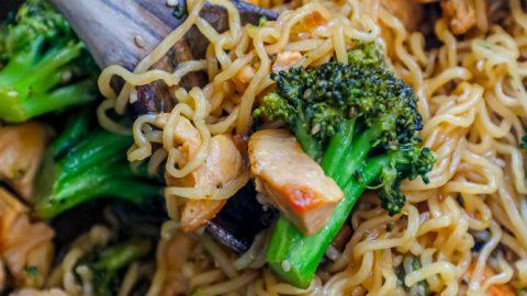 Easy Chicken Teriyaki Noodle Bowls Recipe