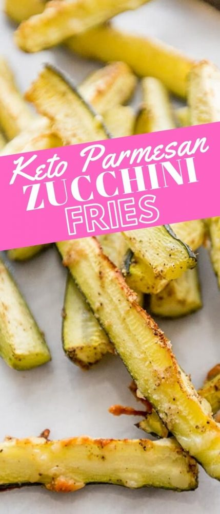 keto friendly parmesan garlic zucchini fried