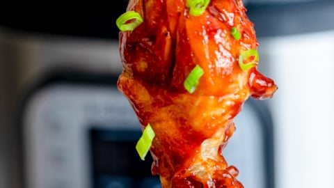 The Best Instant Pot BBQ Chicken Legs Recipe