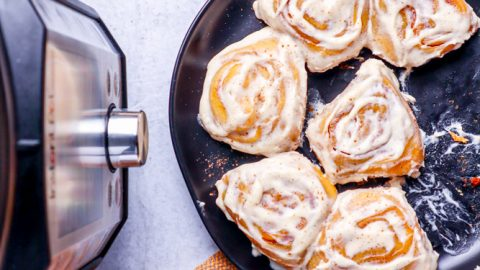 Easy Instant Pot Cinnamon Rolls Recipe