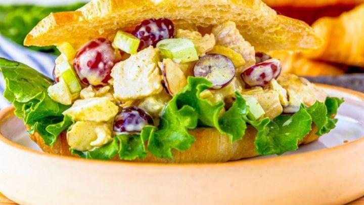 The Best Easy Chicken Salad Sandwiches Recipe