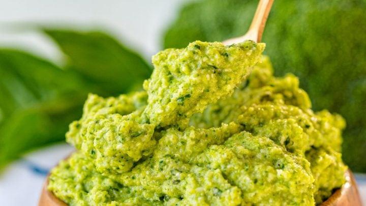 Easy Broccoli Pesto Recipe