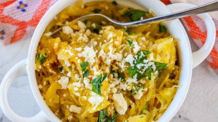 Green Chile Spaghetti Squash Recipe