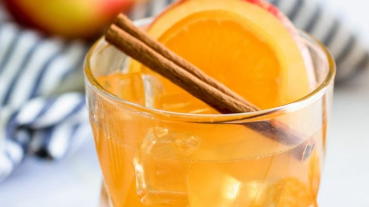 Sparkling Apple Cider Rum Punch Recipe