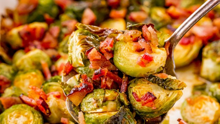 Brown Butter Bacon Brussels Sprouts Recipe