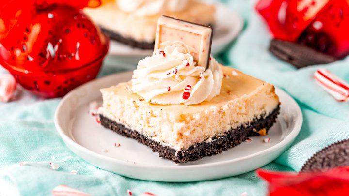 Easy Peppermint Cheesecake Bars Recipe