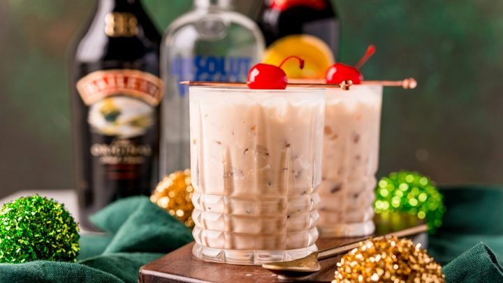Irish Cream White Russian Cocktail Recipe