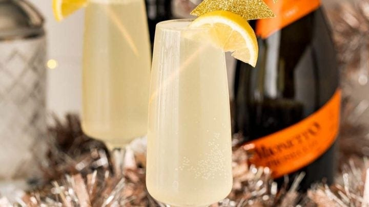 Easy Champagne Fizz Cocktail Recipe