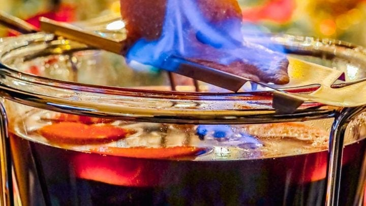 Feuerzangenbowle Flaming German Rum Punch Recipe