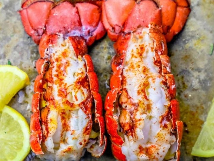 The Best Easy Broiled Lobster Tails Recipe Oven Broiled Lobster Tails