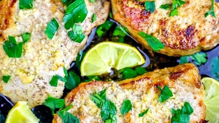 The Best Baked Garlic Pork Chops Recipe Ever
