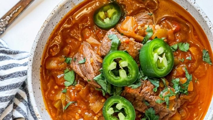 Easy Green Chile Beef Recipe
