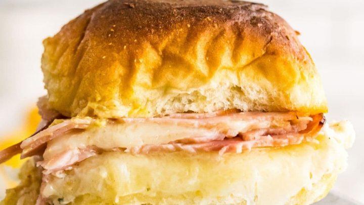 Easy Ham and Cheese Sliders Recipe