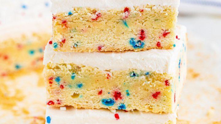 4th Of July Sugar Cookie Bars Recipe