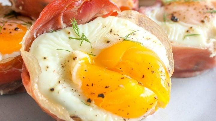 Prosciutto Egg Cups Recipe